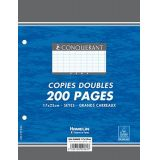 Feuilles copies doubles 17 x 22 - 90 gr.