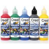 Peinture pour vitre