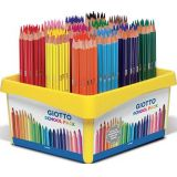 Crayons couleurs omyacolor giotto