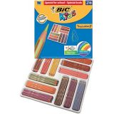 Crayons couleurs tropicolors bic