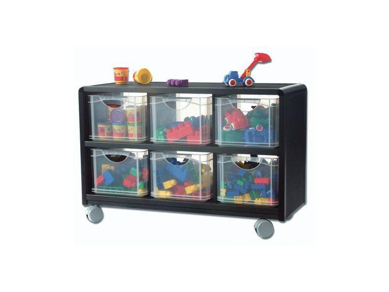 Bac de rangement stunning bac de rangement sous lit boite rangement plastique gifi lovely de - Meuble avec bac de rangement jouet ...
