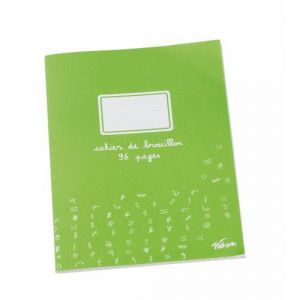 Cahier brouillon 96 pages papier extra blanc 17x22 cm 60g seyes