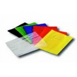 Protège-cahier A4 plastique épais épaisseur: 20/100e - Jaune