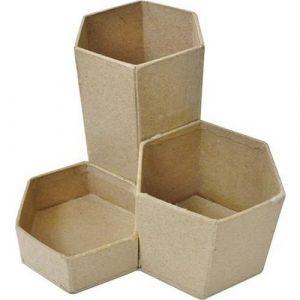 Pot à crayons 3 en 1 à décorer en carton