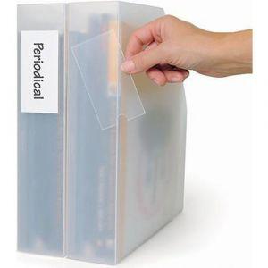 Porte-étiquettes 46 x 75 mm (Sachet de 6)