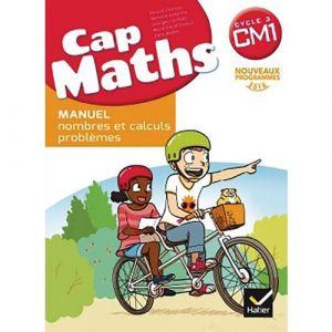 9255723 cap maths cm1 manuel + cahier géométrie + dico maths edit.2017