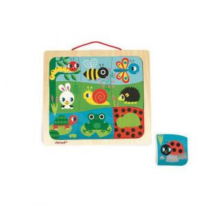 Magnéto puzzle happy garden