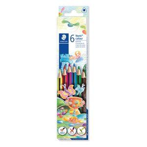 Etui 6 crayons Noris triangulaire