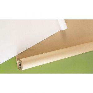 Rouleau kraft - 10 m x 1 m - 64 g - brun