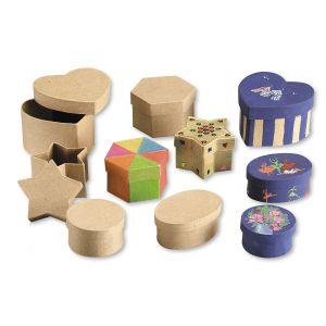 Boîte carton rondes Ø 70x38 mm (Lot de 10)