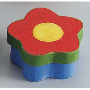 Boîte fleur 80 x 80 mm (Lot de 6)