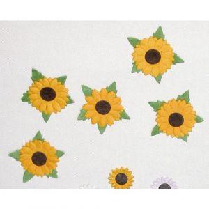 Lot 3 sachets 65 fleurs en papier