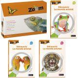 Imagier Zoom - Découvrir le monde animal et 3 Guides pédagogiques PS/MS/GS - Offre spéciale