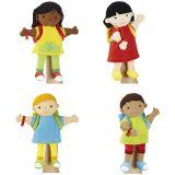 Marionnettes du monde : Awa, Kim, Tom et Mani - Offre spéciale