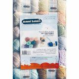 Lot de 12 pelotes de laine 25 g (environ 66 mètres)