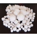 Sachet 100 pompons blancs tailles assorties Ø 10 à 45 mm