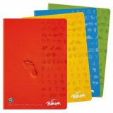 Cahier piqûre super 90g A4 seyes 140 pages