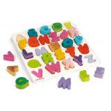 Puzzle encastrement alphabet