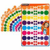 Pochette de 640 pastilles multicolores