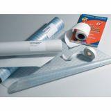 Rouleau adhesif repositionnable pvc soft 80 microns ph neutre 0.61x25m