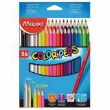 Pochette de 36 crayons couleurs School Peps Maped