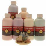 Assortiment de 6flacons de 250ml de gouache acrylique pastel pichon