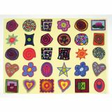 Pochette de 360 gommettes repositionnables decoratives