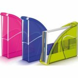 Porte-revues 'Happy', dim. 25x8x33 cm - bleu