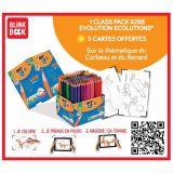 Maxi classpack 288 crayons couleurs Evolution Bic