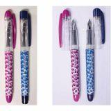 Lot de 10 stylos plume acier