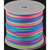 Bobine fil fluo multicolore 1.7mm x 18m