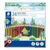 Etui 24 crayons couleurs Noris Colour Staedtler