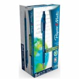 Paper Mate Flexgrip Ultra stylo bille rétractable, pointe moyenne 1 mm (Pack de 30) bleu + 6 gratuits