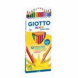 Etui 12 crayons 18 cm Elios tri Omyacolor Giotto