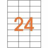 Étiquette adhésive 70x37 mm (Boîte de 2400)