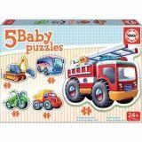 Baby puzzle 'Les véhicules'