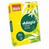 Ramette adagio vive 250 feuilles 120g A4 - citron (jaune intense)
