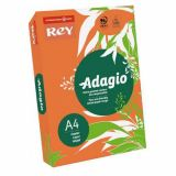 Ramette adagio vive 250 feuilles 120g A4 - orange