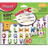 40 magnets alphabet