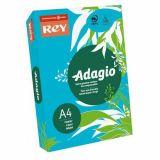 Ramette adagio vive 250 feuilles 120g A4 - bleu mer (intense)
