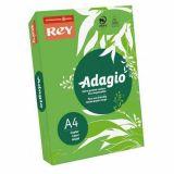 Ramette adagio vive 250 feuilles 120g A4 - vert pomme (intense)
