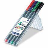 Pochette 4 stylos Triplus Staedtler