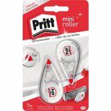 Lot de 2 mini rollers correcteurs blanc Pritt
