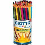 Pot 84 crayons 18 cm Elios Tri Omyacolor Giotto