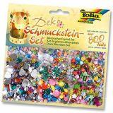 Set de 800 pierres décoratives à  coller