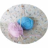 Lot 12 paires d'aiguilles à tricoter pour enfants