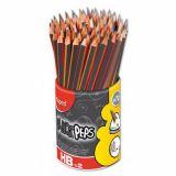 Crayon noir HB black Peps Maped (Pot de 72)