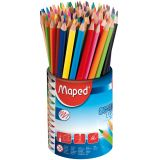 Pot 72 crayons couleurs School Peps Maped