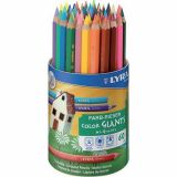 Pot 60 crayons de couleurs Lyra Color Giants