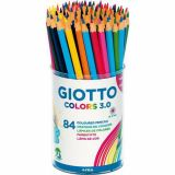 Pot 84 crayons GIOTTO COLORS 3.0